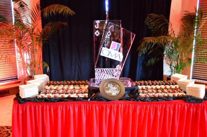 Ned's Catering can be found at many corporate events, including at the Home Builders Event Center.