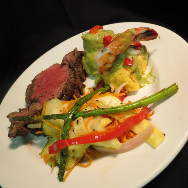 [Image: The Beef Tenderloin is our house specialty.]